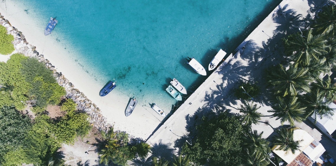 Rent a Boat and go Island Hopping